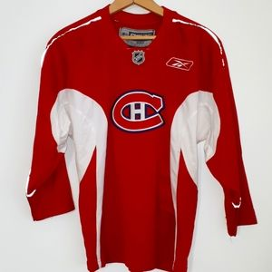 NHL MONTREAL CANADIANS - Red Jersey Boys Sz 14/16